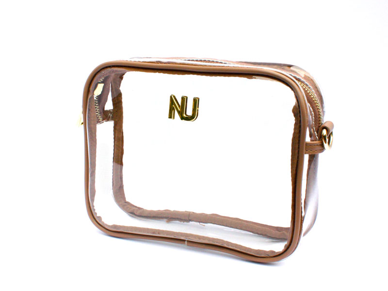 NU Woman Taylor Crossbody with Nude Trim